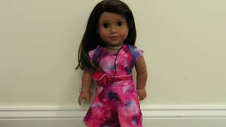 In Depth View of the  NASA Space Suit! | American Girl of the Year 2018 Luciana Vega