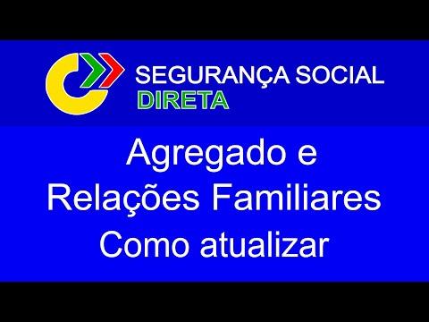 Como atualizar o Agregado e Relações Familiares | Segurança Social
