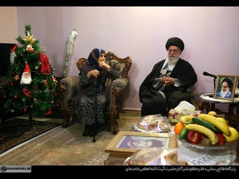 Visit to Christian Martyr family on Christmas 2016 by Ayt Khamenei