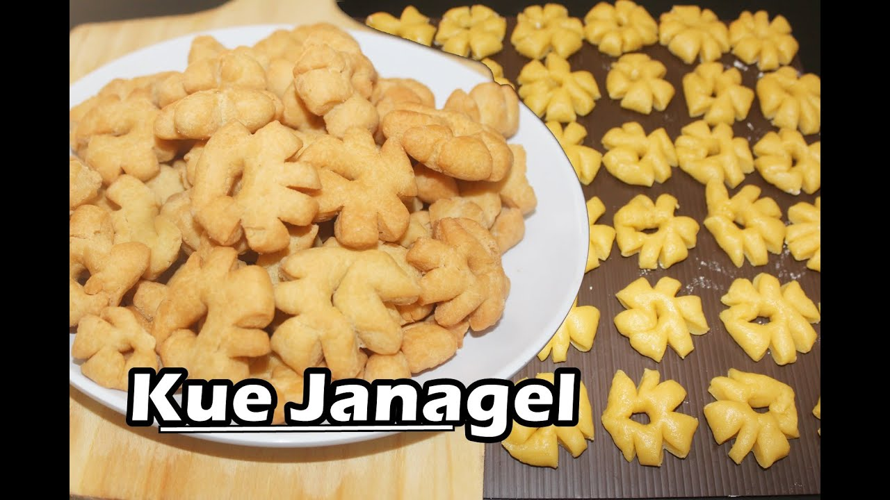 Resep Kue Janagel Enak Manis Kue Lebaran Youtube