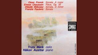 Sonata For Violin And Piano In A Major: Recitativo - Fantasia: Ben Moderato