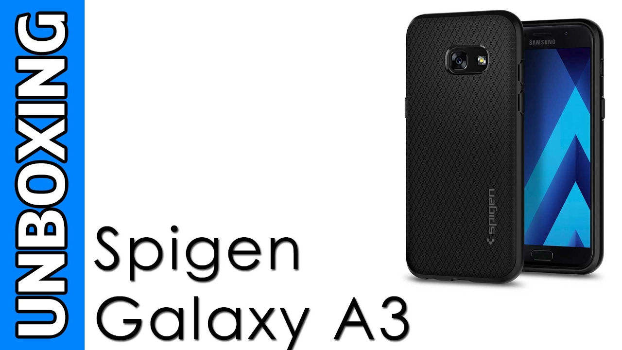 new concept 100c3 79865 Spigen Samsung Galaxy A3 Case Liquid Air Unboxing