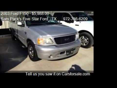 2003 ford f150 stx for sale in carrollton tx 75006 youtube. Black Bedroom Furniture Sets. Home Design Ideas