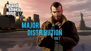 GTA IV Major Distribution v8.1 (GTA IV Mods Gameplay)