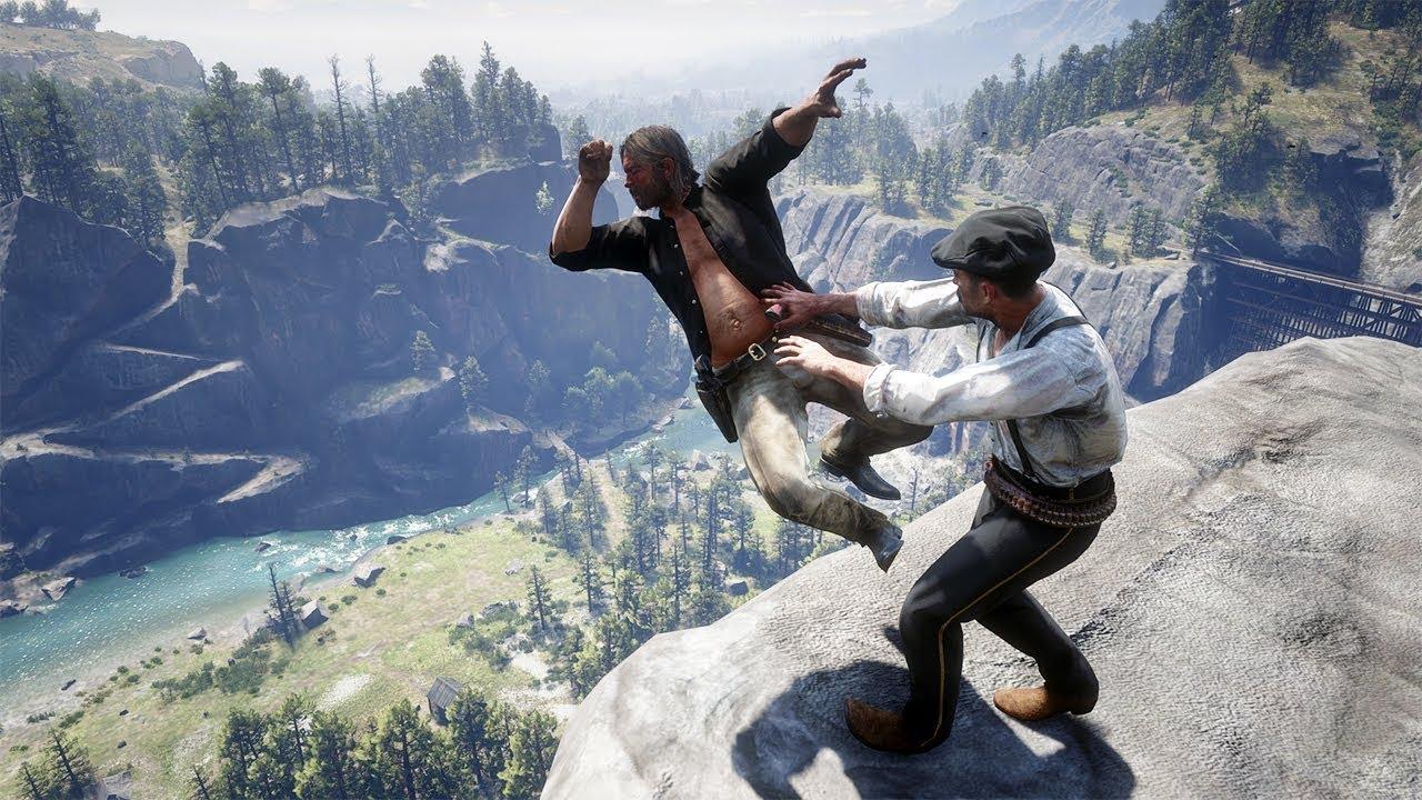 Red Dead Redemption 2 PC 60FPS - Funny & Brutal Moments Vol. 50 (Euphoria Ragdolls) thumbnail
