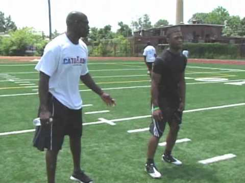 Marlin Jackson Interview at The 1st Annual Cato June All Pro Football Camp