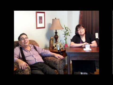 a conversation in Anishinaabemowin, part one.  Helen and Q April 2012