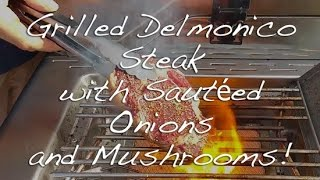 Grilling Grass-fed Delmonico Steak