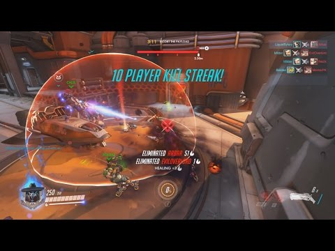 Overwatch - Reaper - Watchpoint: Gibraltar Attack - PUSH IT PUSH IT