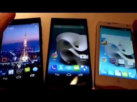 ZTE Kiss 3 Max & Blade Vec 3G/4G: Hands On