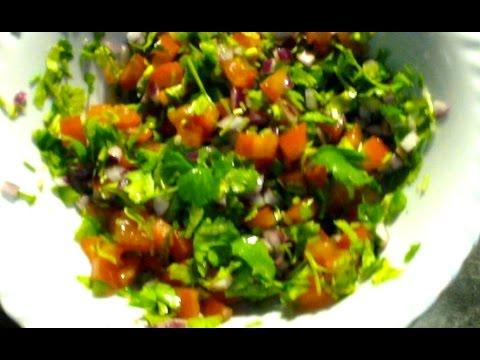 Fresh Tomato Salsa - Pico de Gallo - Mexican Tomato Salsa