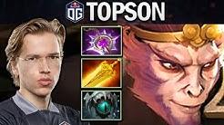 OG.TOPSON MONKEY KING - TRYING NULLIFIER - DOTA 2 7.26 GAMEPLAY
