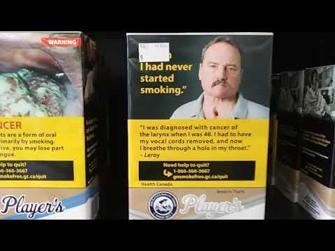 Cigarette Cartons In Canada