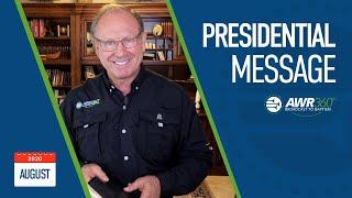 video thumbnail for August 2020 President's Report