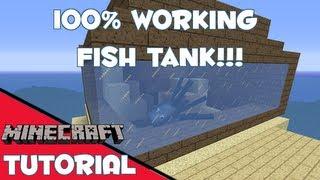 minecraft fish tank fixed