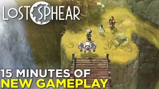 LOST SPHEAR — 15 Minutes of NEW GAMEPLAY from the I Am Setsuna Follow-Up