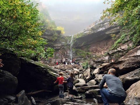 Kaaterskill Falls Hike - Catskills NY - Tallest Waterfall in NY