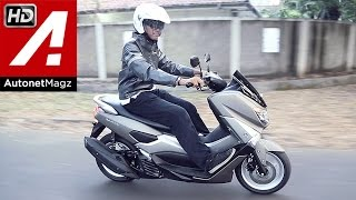 Review & test ride Yamaha NMax Indonesia