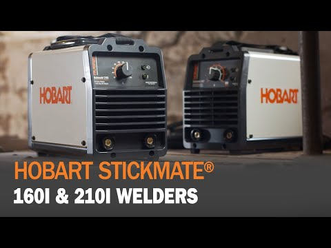Hobart Stickmate 160i and 210i Welders Provide Dependability, Durability and Portability