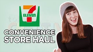 Japanese Convenience Store Haul Taste Test [7 ELEVEN, 7/11]