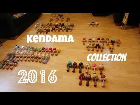Kendama Collection - December 21st, 2016