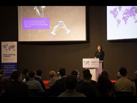 "Katherine Wu: ""Brave New World: Decentralization In The New World Order Of Technology"""