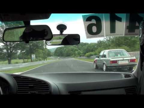 BMW 38iS VS VW Sirocco 2.0TFSI on Nurburgring