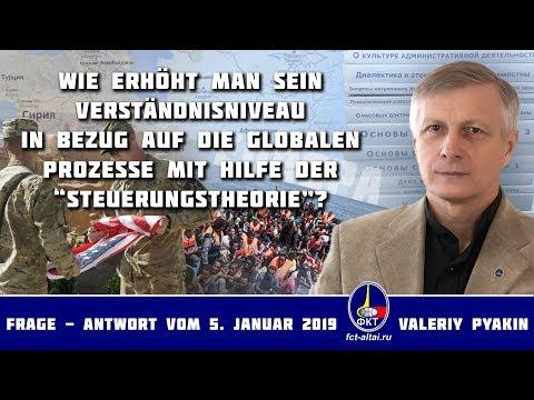 Live-Sendung – der aktuelle Moment (2019.01.05 Valeriy Pyakin)