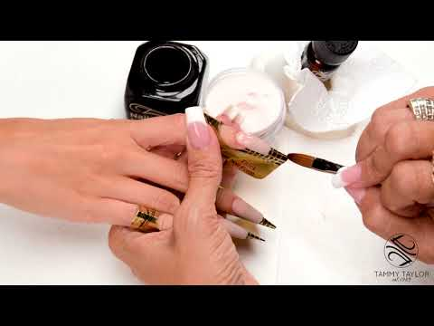❤ How To  Strong Tapered Sculptured Nails  Tammy Taylor