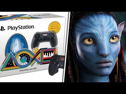 Ovo de Páscoa do Playstation 4 , nova serie dos X-Men e Avatar 2
