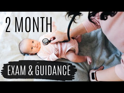 TWO MONTH OLD HEALTH ASSESSMENT | Physical Exam & Anticipatory Guidance