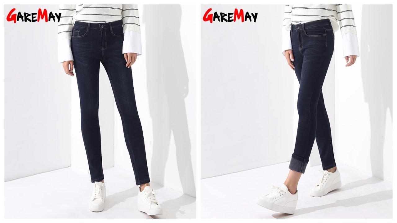 Женские джинсы - фото - 2018 / Women's fashion jeans - photo - YouTube