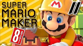 Tinfoil Lizard People || Super Mario Maker FAN LEVELS (Part 11) 8-BitGameTime