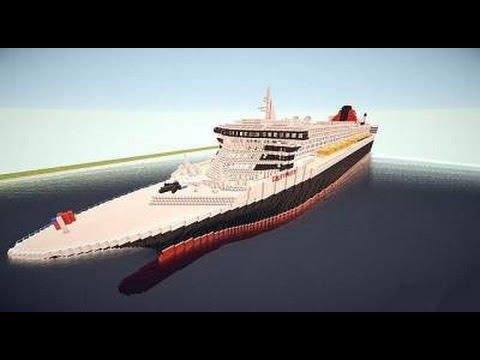 Карта корабль - Minecraft 1.5.2