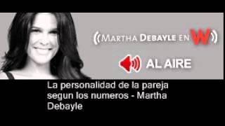 La personalidad de la pareja según los números - Martha Debayle