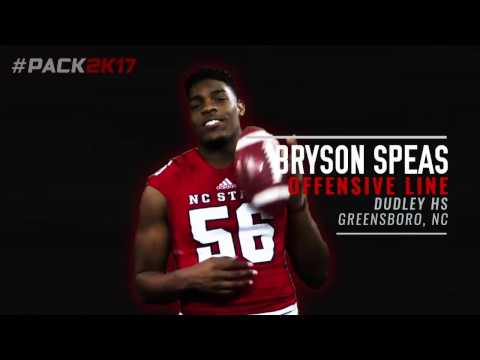 #Pack2K17 - Bryson Speas
