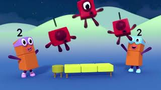 Numberblocks - Number Space Invaders - Learn to Count