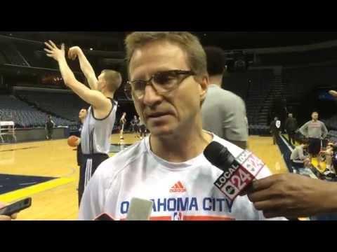 Brooks: Shootaround in Memphis