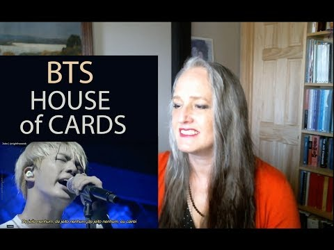 Voice Teacher Reaction To BTS - House Of Cards