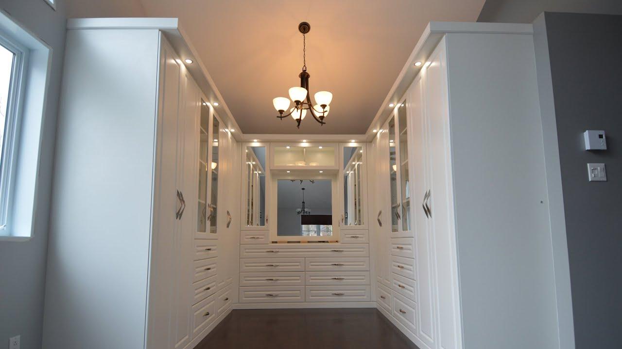 Beau STIL Design | Penderie Blanche | White Walk In Closet