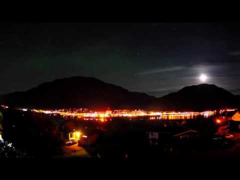Northern Lights in Juneau, Alaska (1080p)