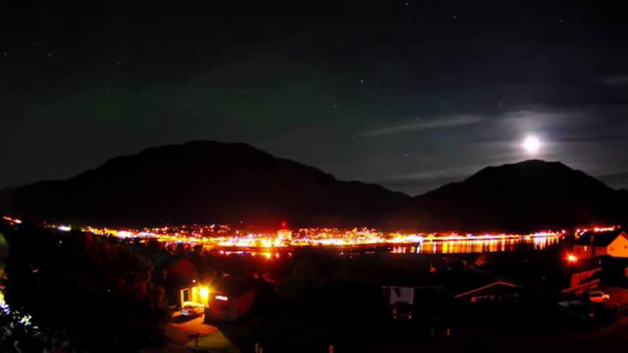 Northern Lights In Juneau Alaska 1080p