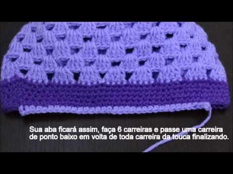 1c8137009ea96 Boina em Crochê - YouTube