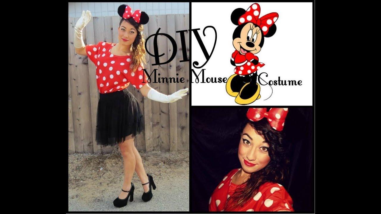 DIY Minnie Mouse Costume! | Simply Just Rebekah  sc 1 st  YouTube & DIY Minnie Mouse Costume! | Simply Just Rebekah - YouTube