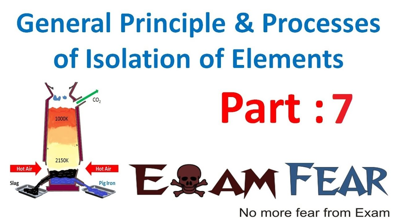 Chemistry isolation of elements part 7 thermodynamics principle of chemistry isolation of elements part 7 thermodynamics principle of metallurgy cbse class 12 xii ccuart Choice Image