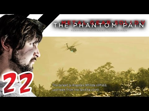 Metal Gear Solid V Ep.22 EXPLORE THE AFRICAN JUNGLE!