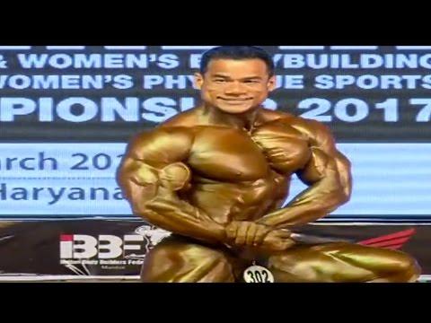 Best Poser Sarbo Singh - IBBF Mr India 2017