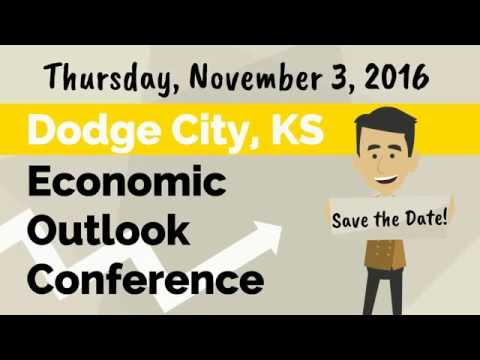 2016 Dodge City Kansas Economic Outlook Conference - SAVE-THE-DATE