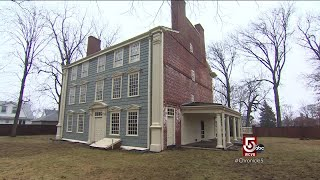 The Royall House and Slave Quarters