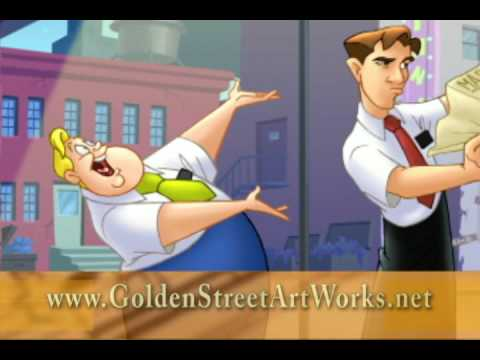 Animation Production Companies: Golden Street Animation Productions TV commercial